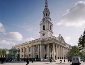 St Martin-in-the-Fields, Trafalgar Square