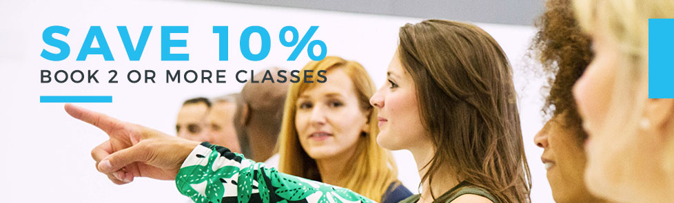 Save 10% off 2 classes