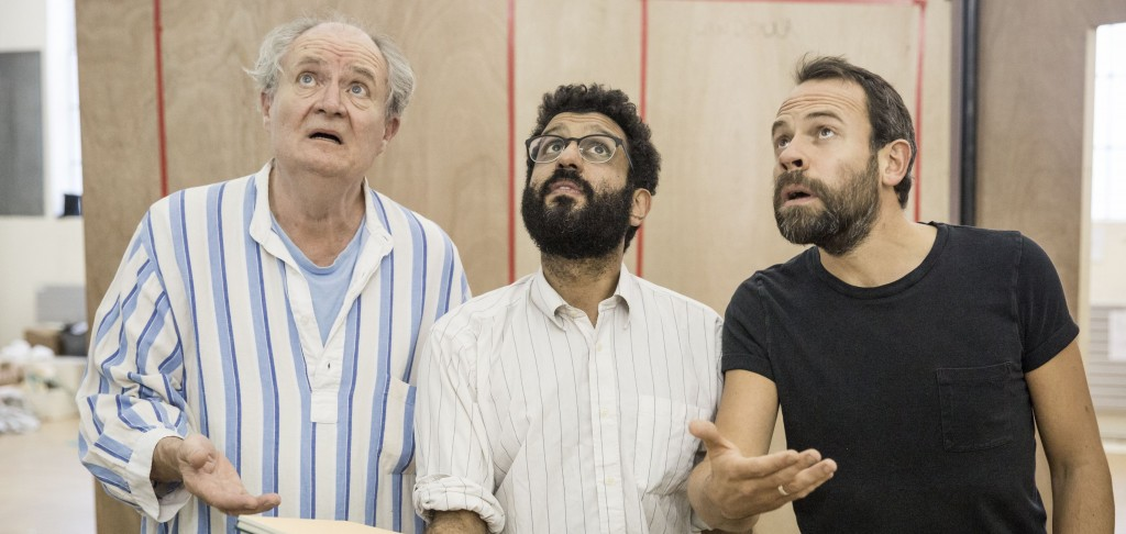Jim Broadbent in rehearsals for 'A Christmas Carol'