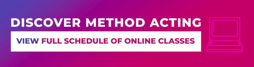 online method acting classes