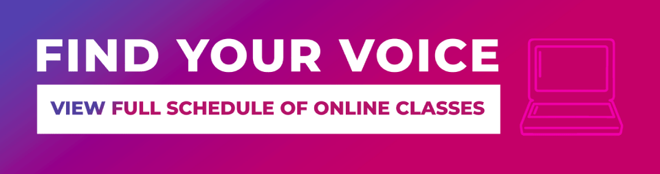 find your voice online classes