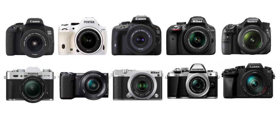 TOP 10 CAMERAS FOR BEGINNERS