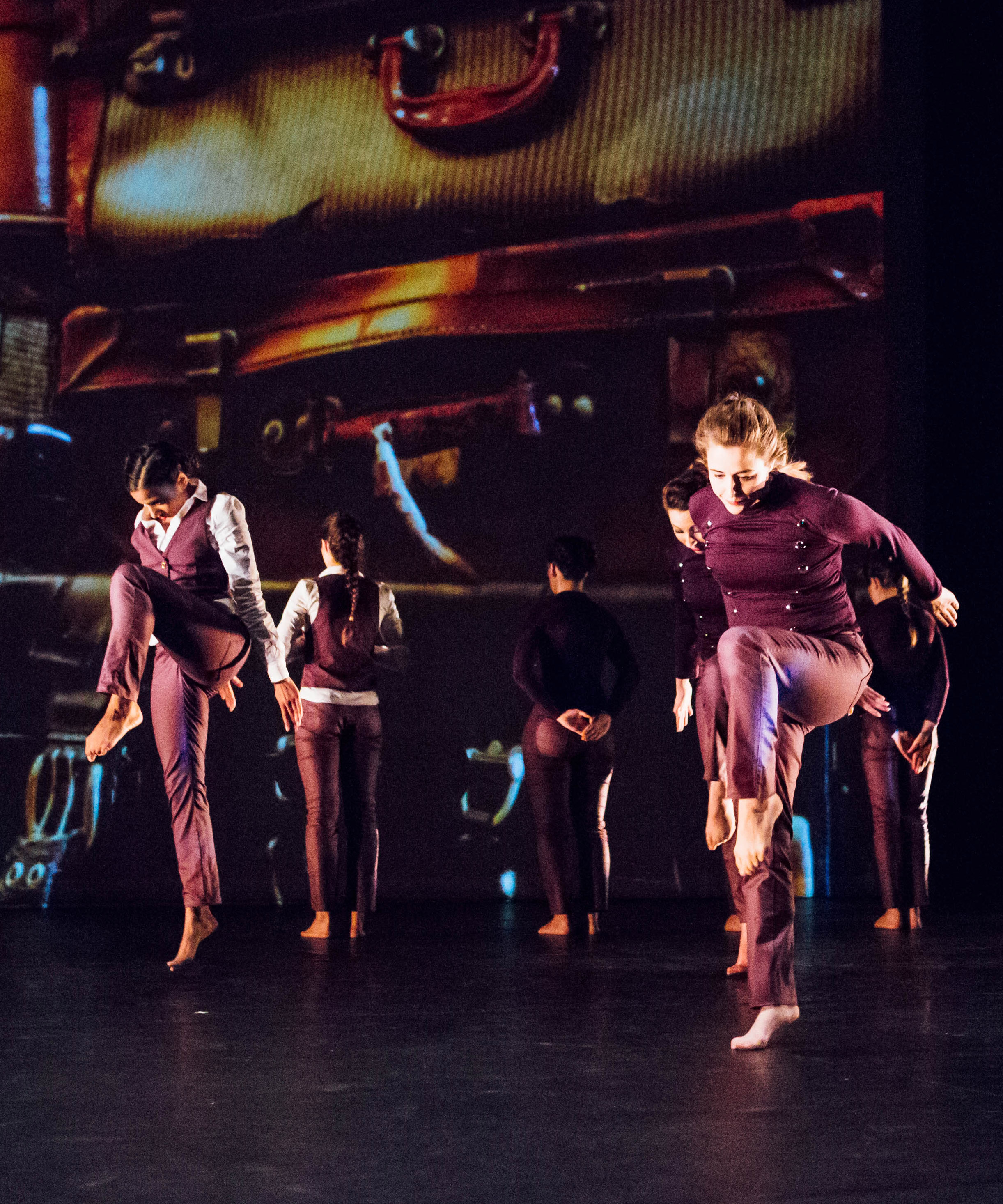 A City Academy Contemporary Dance performance at Laban