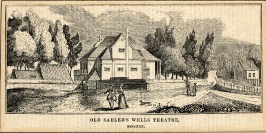 Sadler's Wells 18th century