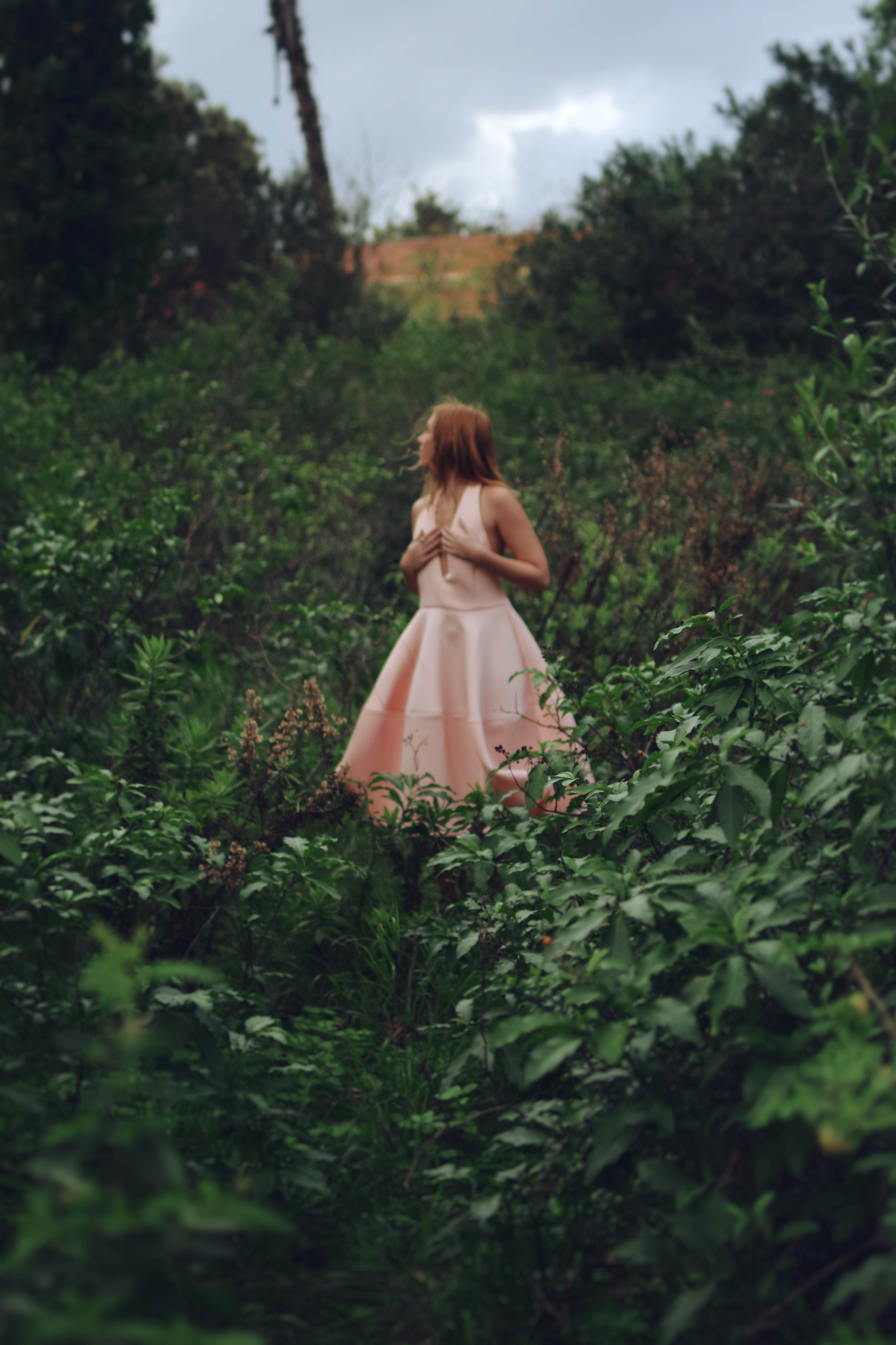 student photo - woman in wood