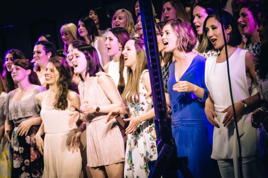 Megan of city academy songbirds choir, part of bbc one's pitch battle tv show