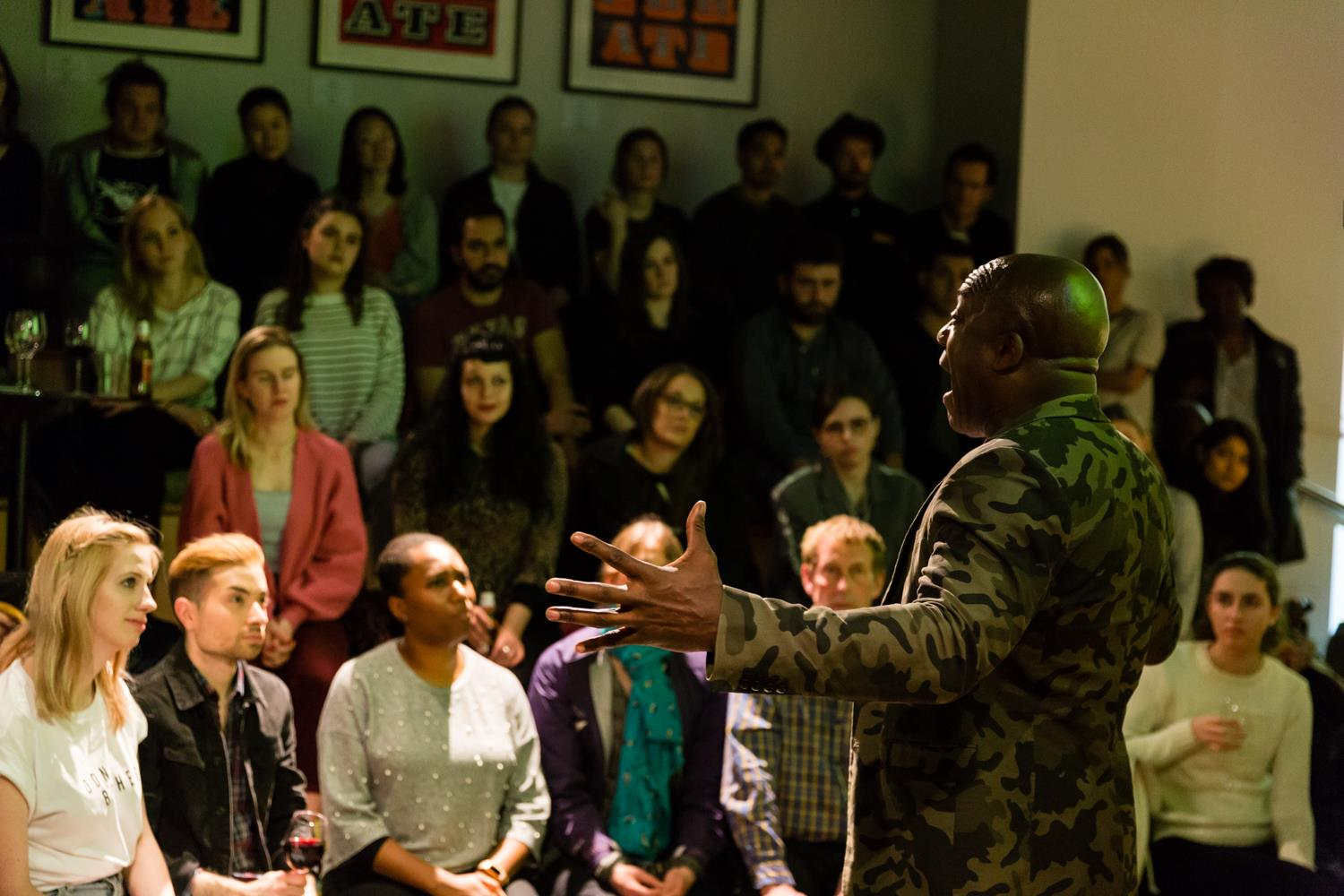 CA Hosts An Evening With DeObia Oparei