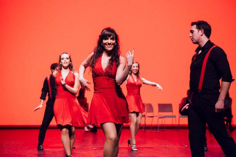 City Academy Salsa Dance Company performing