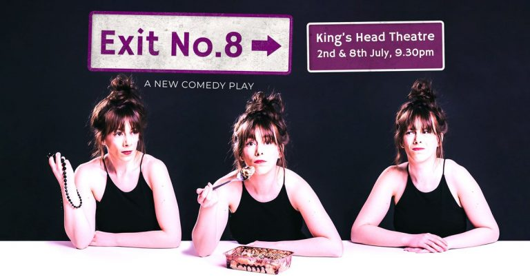 Exit Number 8 - original production poster