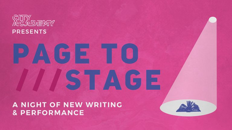 Page To Stage - City Academy