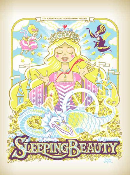 SLEEPING BEAUTY   THE CRYPT, ST JAMES'S   DEC 2015