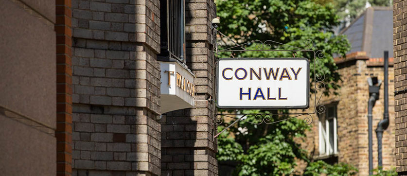 Conway Hall, WC1