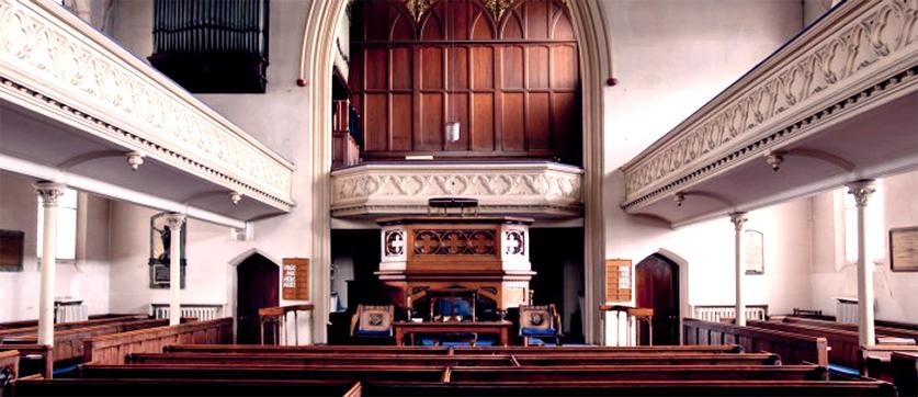 Heath Street Baptist Church, NW3