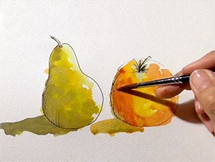 How to Paint - Watercolour Painting