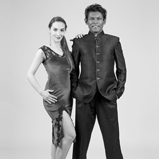 Winston Veerender and Silvia Bivolaru